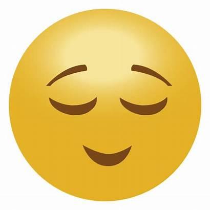 Emoji Calma Clipart Smirk Emoticon Tranquilo Transparent