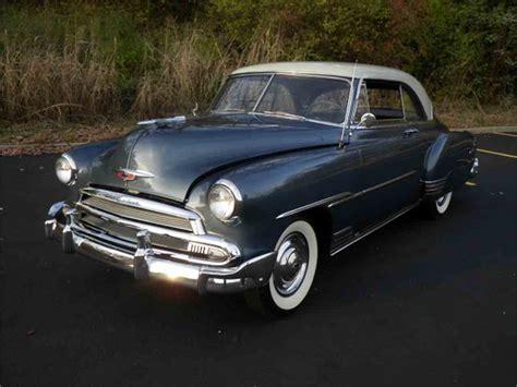 1951 Chevrolet Deluxe Bel Air Styleline For Sale