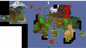 Easy clue scroll maps - map clues are an image of a location