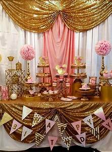 Rose Gold Party Decorations Fresh Best 20 Gold Birthday ...