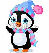 Christmas Penguin Cartoon