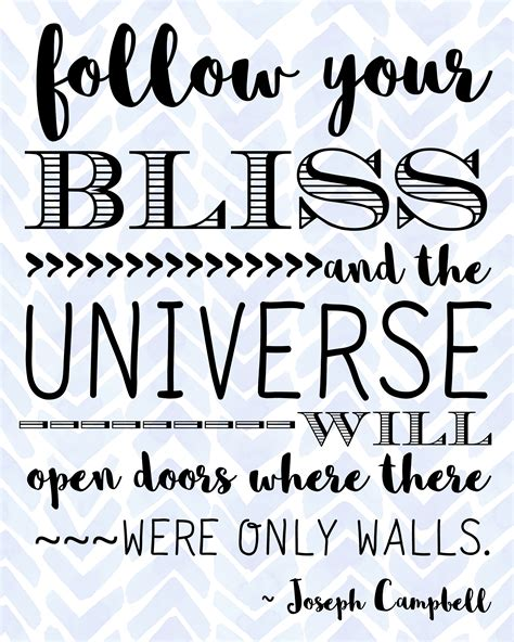 follow  bliss quote  printable  rays  bliss