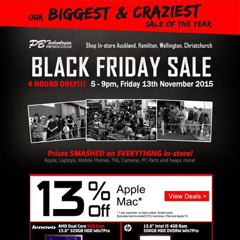 pb tech black friday cyber monday sales 13 mac instore friday monday