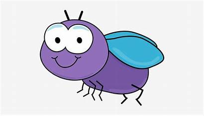 Clip Bug Clipart Fly Adorable Transparent Pngkey