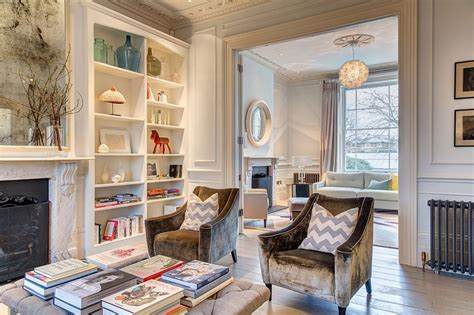 Exuberant English Home Delights With A Colorful And