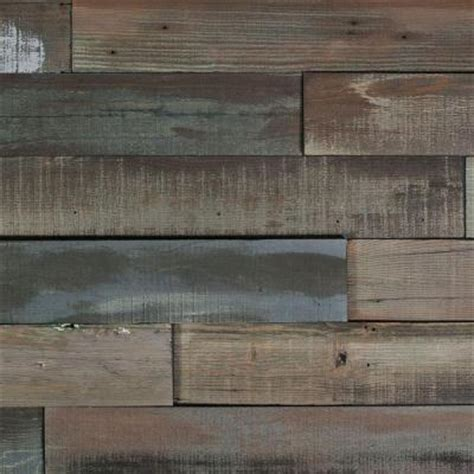 Nuvelle Flooring Home Depot by Nuvelle Deco Planks Weathered Gray 1 2 In Thick X 4 In