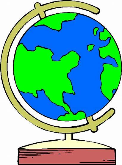 Globe Clip Clipart Cliparts Around Link Library