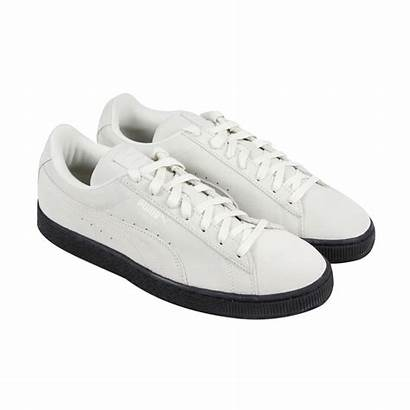 Puma Suede Sole Shoes Sneakers Lace Mens