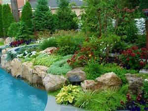 quelques idees d39amenagement paysager devant maison With idee amenagement jardin paysager