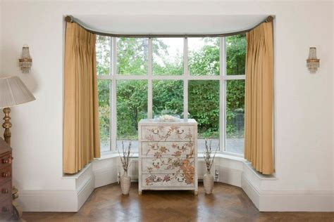 bay window curtains 17 simple but adorable bay window curtains designs