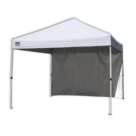 Backyard Canopy Home Depot by Quik Shade Commercial C100 10 Ft X 10 Ft White Canopy