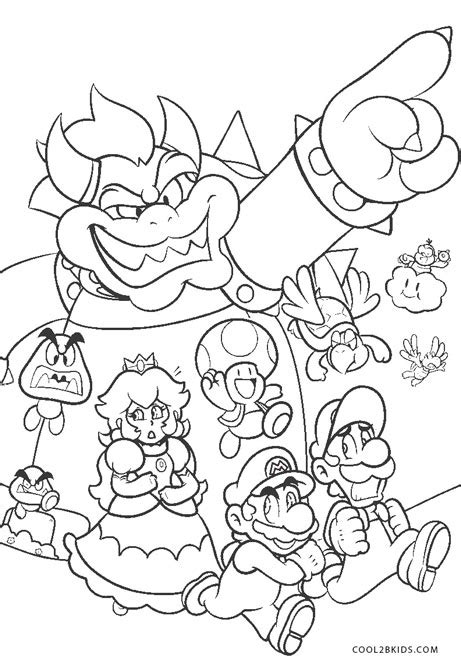 Cocomelon is definitely a popular party trend that isn't going away anytime soon, finding a good design for your kid's upcoming party isn't as easy as it seems this adorable invitation won't disappoint you at all! Free Printable Mario Coloring Pages For Kids