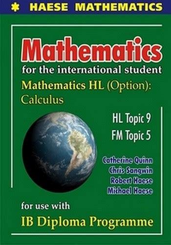 Mathematics for the International Student: Mathematics HL ...