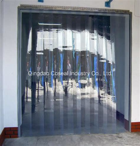 china cold room plastic pvc curtain photos