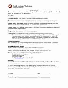 informed consent template for research image collections