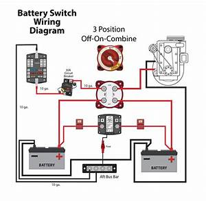 Diagram Boat Dual Battery System Wiring Marine Isolator