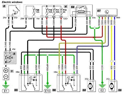 Citroen Berlingo Fuse Box Diagram Wiring by Berlingo Electric Window Problem Car Forum