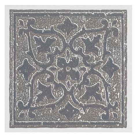 decorative wall tiles achim vinyl 4 in x 4 in self sticking motif wall