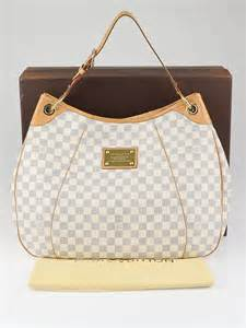 louis vuitton azur damier canvas galliera gm bag yoogis closet