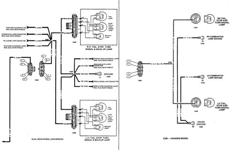 2000 silverado light wiring diagram diagram chevy