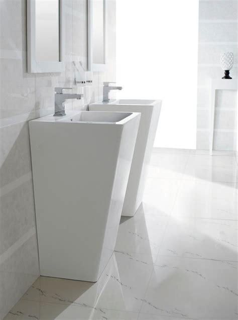 contemporary bathroom pedestal sinks bresica modern bathroom pedestal sink bathroom sinks