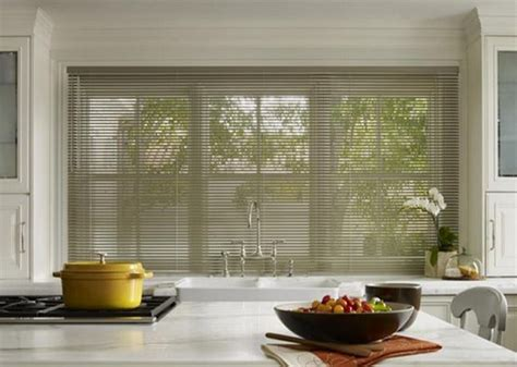 Kitchen Horizontal Blinds by Wooden Blinds Modern Kitchen Curtains Home Interiors