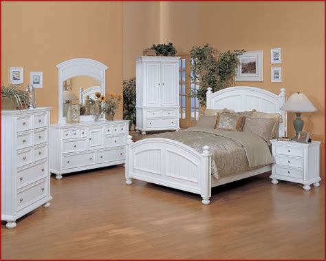 Winners Only White Bedroom Set Cape Cod Wobp100