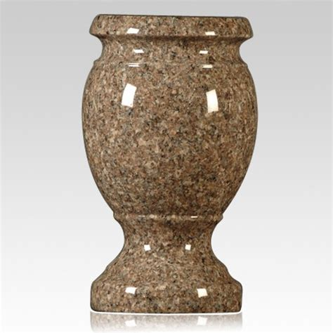 autumn granite vase