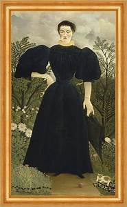 Mode Für Frauen Unter 160 Cm : portrait of madame m henri rousseau mode kleid frauen b ume armband b a3 02256 billerantik ~ Watch28wear.com Haus und Dekorationen