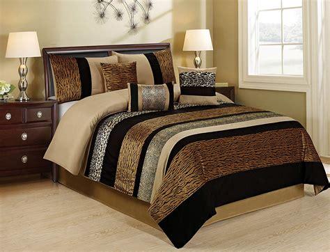 Animal Print Bedding Safari Bedding Comforters