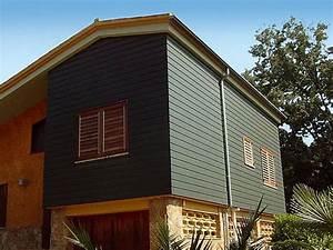 bardage de facade en composite siding werzalit With eclairage exterieur maison contemporaine 4 les differents types de bardage bois composite pvc
