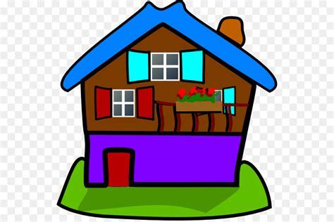 House Cartoon Png Download 594 596 Free Transparent House Png