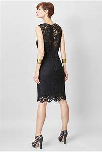 Black lace dress c39est ma robe for Robe noire en dentelle