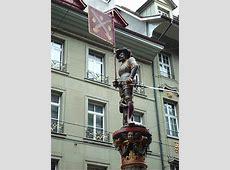 Schutzenbrunnen Fountain Statue Old Town Bern Swiss Guide