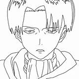 Levi Lineart Captain Aot Coloring Anime Sketch Deviantart Manga Template sketch template