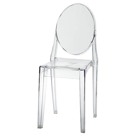 ghost chair clear acrylic encore events rentals