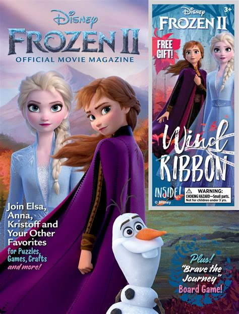 review frozen  official  magazine laughingplacecom