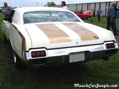 1971 Hurst Olds 442 Rear