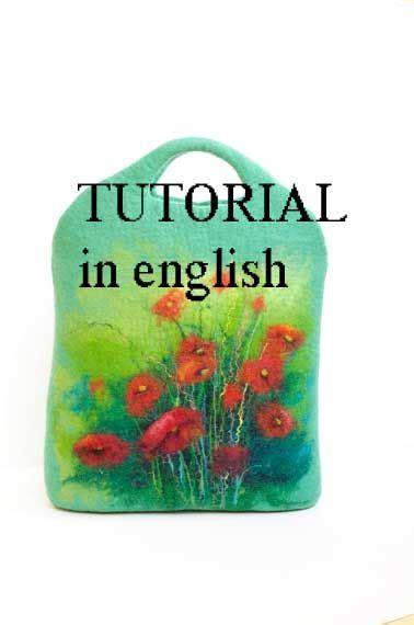 wool felting tutorial tutorial pattern   english