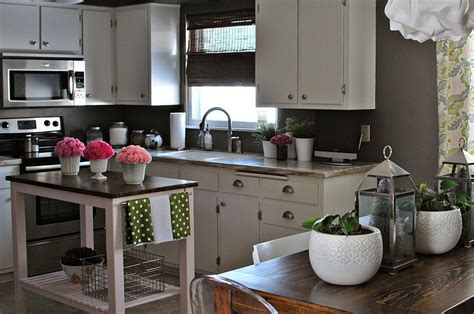 white kitchen island 24 tiny island ideas for the smart modern kitchen