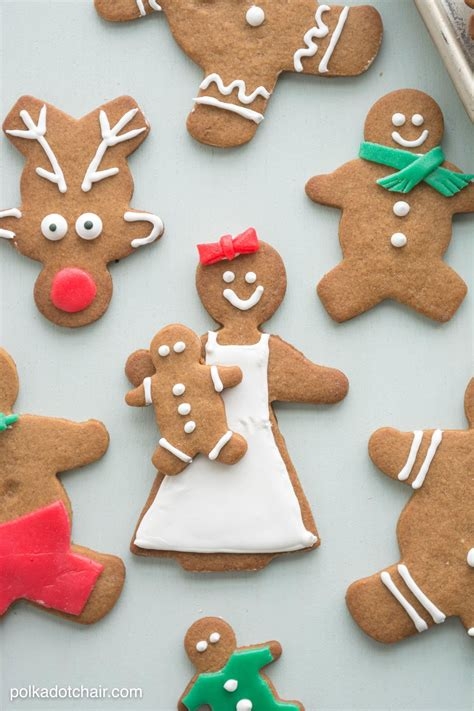 Decorating Ideas For Gingerbread gingerbread cookie decorating ideas the polka dot chair