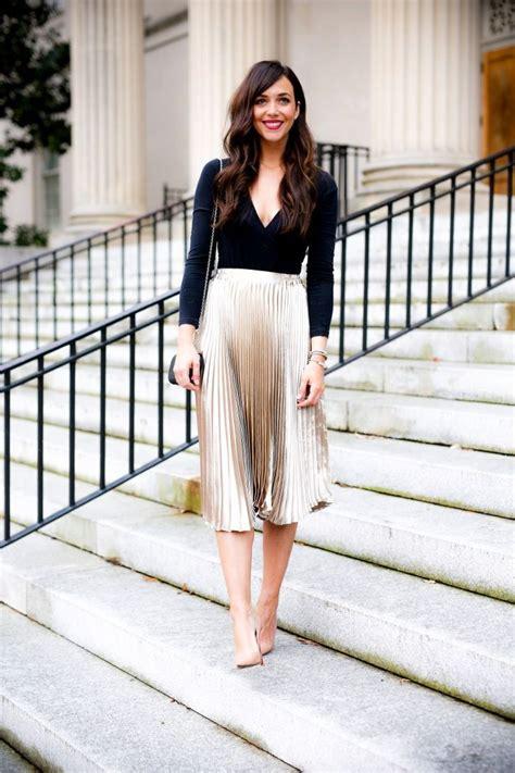Best 25 Pleated Skirts Ideas On Pinterest Pleated Skirt