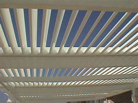Porch Rail Ideas by Pergola Slat Closeup Midland Vinyl Products Oklahoma