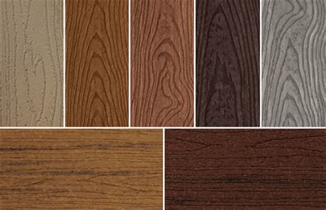 timbertech colors deck materials trex vs timbertech or others