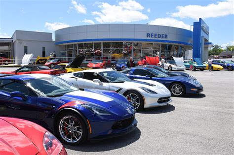 Reeder Chevrolet Knoxville Tennessee by Beautiful Day For 170 Strong Corvette Show In Knoxville