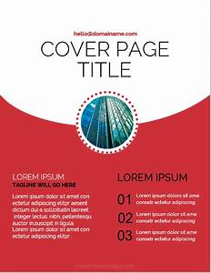 Word 2013 Report Templates 5 Best Report Cover Page Designs For Ms Word Ms Word