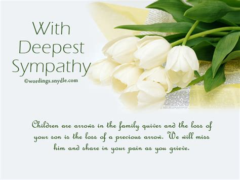 words of sympathy sympathy messages for loss of a child wordings and messages