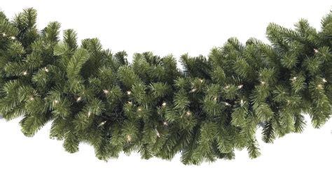 artificial wreaths cheap lighted garland sequoia fir prelit commercial