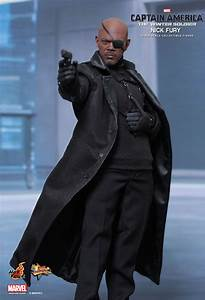 HOT TOYS CAPTAIN AMERICA 2 WINTER SOLDIER NICK FURY 1/6 ...