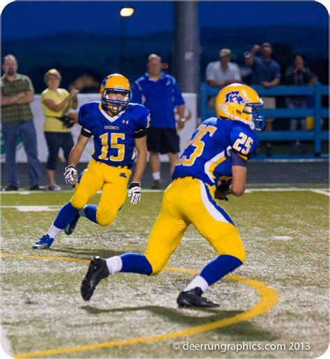 high school football pokes  home manning bowl